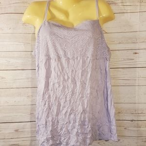Maurices Light Lilac Tank Top